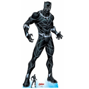 The Avengers Black Panther Oversized Cardboard Cut Out