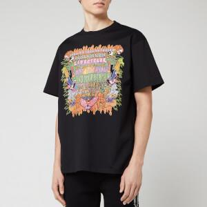 Neil Barrett Men's Art Collage Jody Paulson T-Shirt - Black/Multi