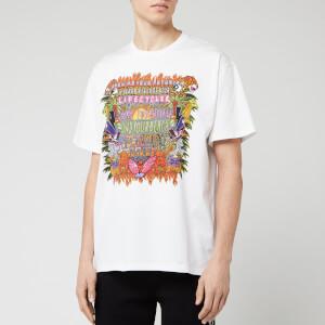 Neil Barrett Men's Art Collage Jody Paulson T-Shirt - White/Multi