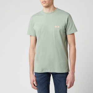 Nudie Jeans Men's Daniel Logo T-Shirt - Pale Green