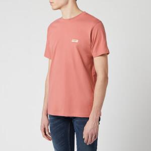 Nudie Jeans Men's Daniel Logo T-Shirt - Dusty Red