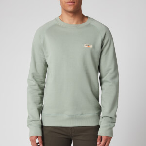 Nudie Jeans Men's Samuel Logo Sweatshirt - Pale Green