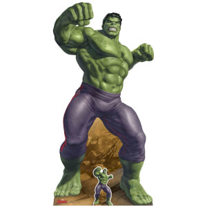 Star Cutouts The Avengers The Incredible Hulk Oversized Cardboard Cut Out