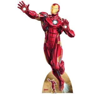 Star Cutouts The Avengers Iron Man Take Off Oversized Cardboard Cut Out