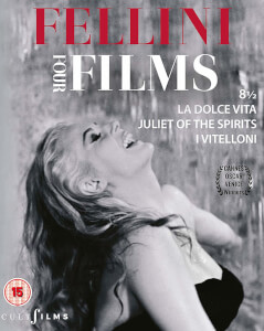 Fellini Four Films 8 1/2 - Blu-ray