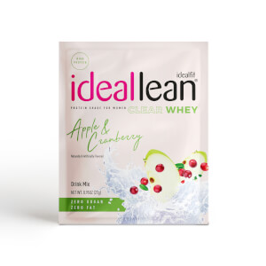 IdealFit Clear Whey Protein - Apple and Cranberry - Sample