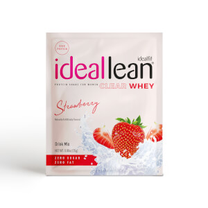 IdealFit Clear Whey Protein - Strawberry - Sample