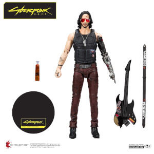 McFarlane Toys Cyberpunk 2077 Johnny Silverhand 7-Inch Action Figure