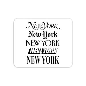 The Motivated Type New York New York Mouse Mat