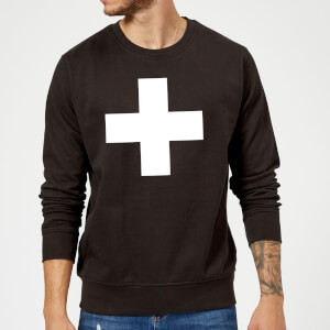 The Motivated Type Swiss Cross Sweatshirt - Black