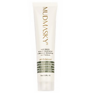 MUDMASKY Hair Mask, Scalp Treatment & Miracle Shampoo
