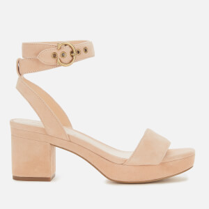 Coach Women's Serena Suede Platform Sandals - Beachwood