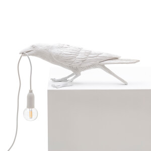 Seletti Playing Bird Lamp - White