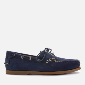 Polo Ralph Lauren Men's Merton Suede Boat Shoes - Newport Navy