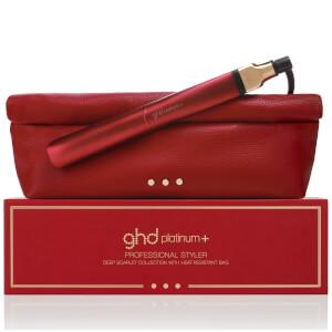 ghd Platinum+ Styler - Deep Scarlet