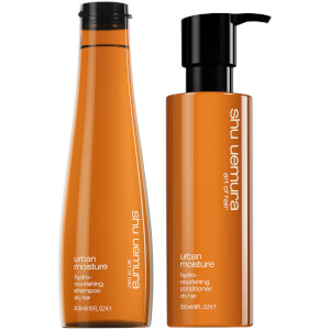 Shu Uemura Art of Hair Urban Moisture Shampoo and Conditioner Duo