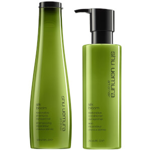 Shu Uemura Art of Hair Silk Bloom Shampoo and Conditioner Duo
