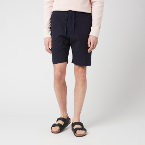 Officine Generale Men's Phil Seersucker Shorts - Navy
