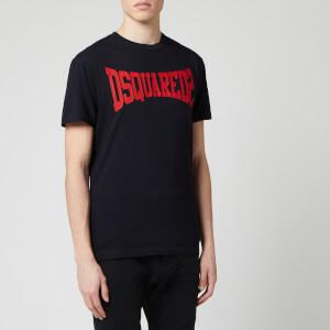 Dsquared2 Men's Basic Logo T-Shirt - Blue