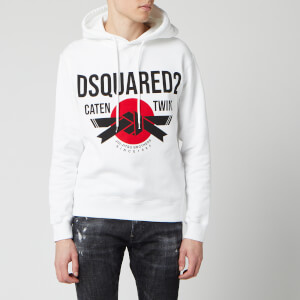 Dsquared2 Men's Pop Over Hoody - White