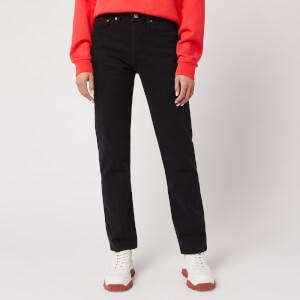 Levi's Women's 501 Crop Jeans - Black Heart