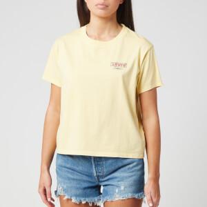 Levi's Women's Graphic Varsity T-Shirt - Yellow