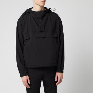 AMI Men's Hooded Windbreaker - Noir