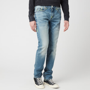 True Religion Men's Rocco No Flap Super T Jeans - Stargazing