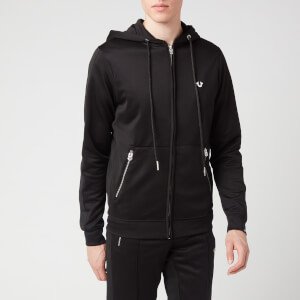 True Religion Men's Hooded Zip Jacket - Black