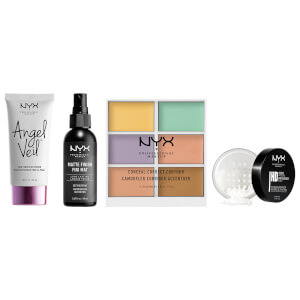 NYX Professional Makeup New Year New You Perfect Face Routine Set - Exclusive