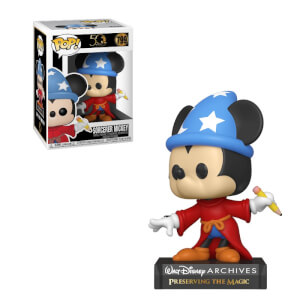 Figura Funko Pop! - Mickey Mouse Aprendiz - Disney: Archives
