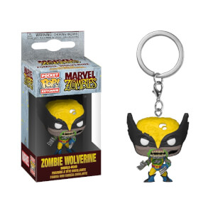 Marvel - Wolverine Zombie Portachiavi Pocket Pop!