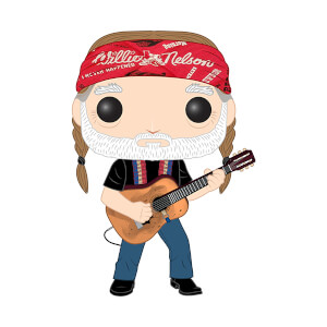 Pop! Rocks - Willie Nelson Figura Funko Pop! Vinyl