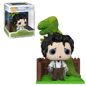 Edward Scissorhands Edward and DinoHedge Funko Pop! Vinyl Deluxe