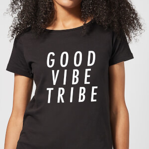 Good Vibe Tribe Women's T-Shirt - Black