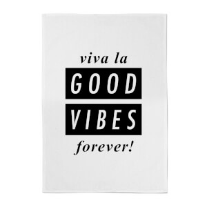 Viva La Good Vibes Towel Cotton Tea Towel