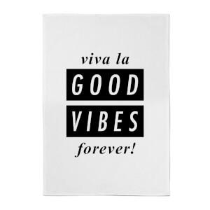 Viva La Good Vibes Towel Cotton Tea Towel