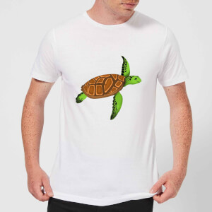 Turtle Men's T-Shirt - White