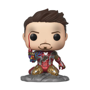 Marvel - I Am Iron Man PX EXC Figura Funko Pop! Vinyl (Glow In The Dark)