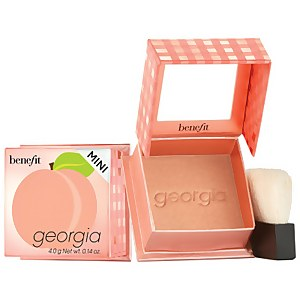 benefit Georgia Golden Peach Powder Blush Mini
