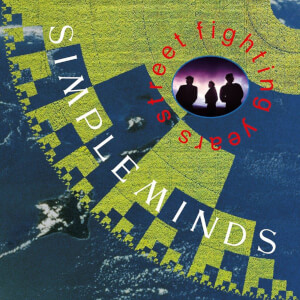 Simple Minds - Street Fighting Years 2x LP