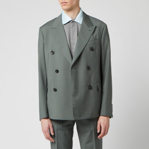 Lanvin Men's Light Unlined DB Jacket - Racing Green