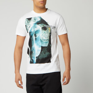 Helmut Lang Men's Standard Eagle T-Shirt - Chalk White