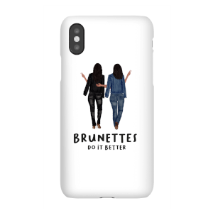 Brunettes Do It Better Phone Case for iPhone and Android