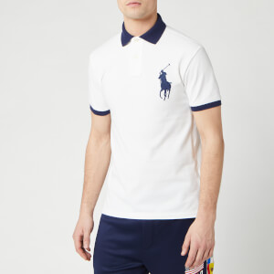Polo Ralph Lauren Men's Short Sleeve Big Pony Polo Shirt - White
