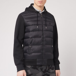Polo Ralph Lauren Men's Multi Knit Hooded Down Jacket - Polo Black