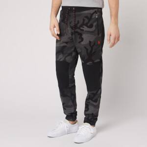 Polo Ralph Lauren Men's Tonal Camo Tech Fleece Pants - RL Charcoal Camo Multi