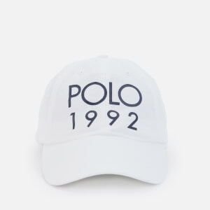 Polo Ralph Lauren Men's Classic Sport Cap - Pure White
