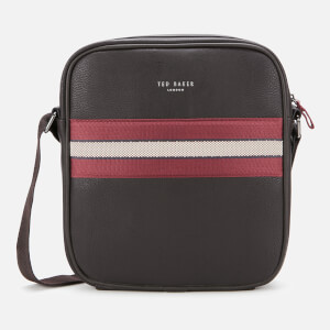 Ted Baker Men's Neeve Webbing Flight Bag - Xchocolate