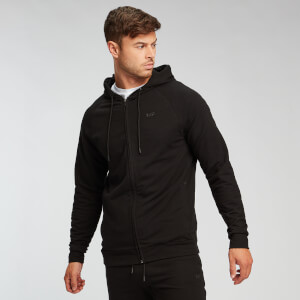 MP Men's Form Zip Up Hoodie -huppari - Musta